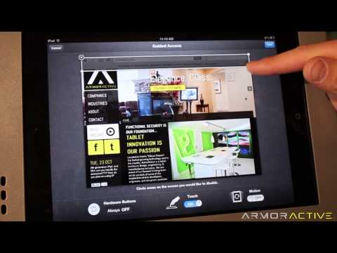 How to turn your iPad into a Kiosk using Guided Access