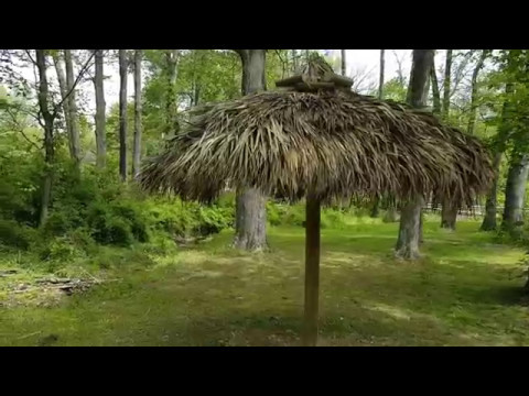 Tiki Kev Thatched Umbrella