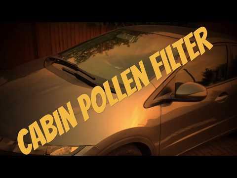 Uk Honda Civic 8th Gen Cabin Pollen Filter Change