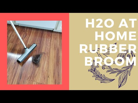Rubber Bristle Broom From H2O At Home