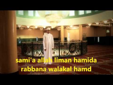 my prayer with transliteration fajr, maghrib, isha,thuhur and asr