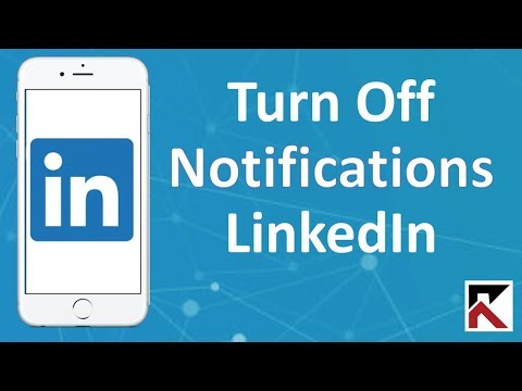 How To Turn Off LinkedIn Notifications iPhone