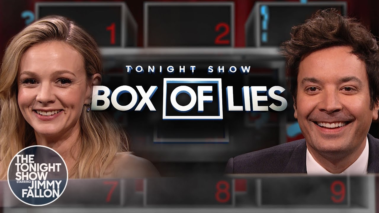 BoxofLieswithCarey Mulligan | The Tonight Show Starring Jimmy Fallon