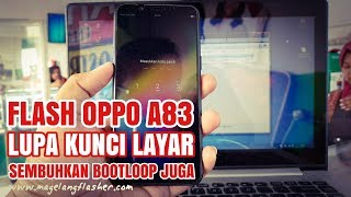 Oppo A83 Pattern password unlock Done By Miracle Box