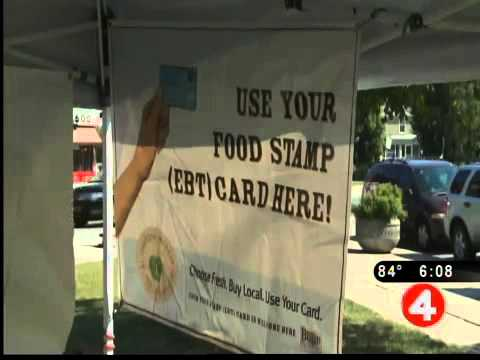 Farmer's market to accept food stamps