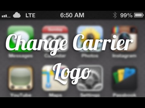 Change iPhone Carrier Logo (No Jailbreak Required)
