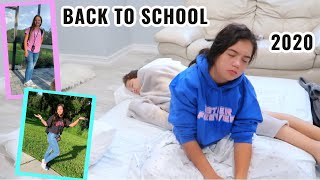 GRWM :  FIRST DAY OF SCHOOL 6TH & 8TH GRADE   SISTER FOREVER