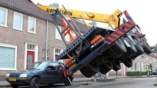 Crane Fail Compilation - When Crane Operators Screw Up Bad