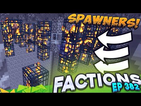 Minecraft Factions #382 - SO MANY SPAWNERS! (Minecraft Raiding)