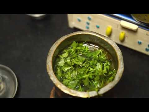 How to do coriander lime soup