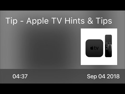 SCOM0766 - Tip - Apple TV Hints & Tips