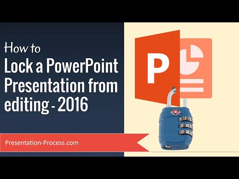 How to Lock a PowerPoint Presentation from editing
