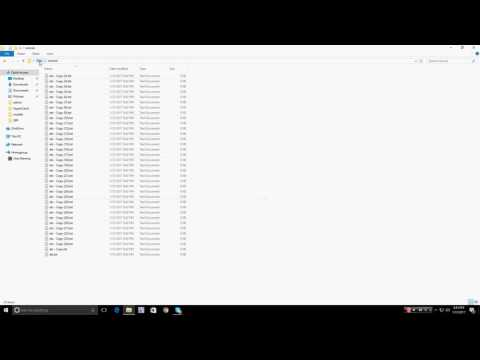 How to mass change file extensions | TutorialRegion