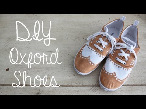 DIY Oxford Shoes