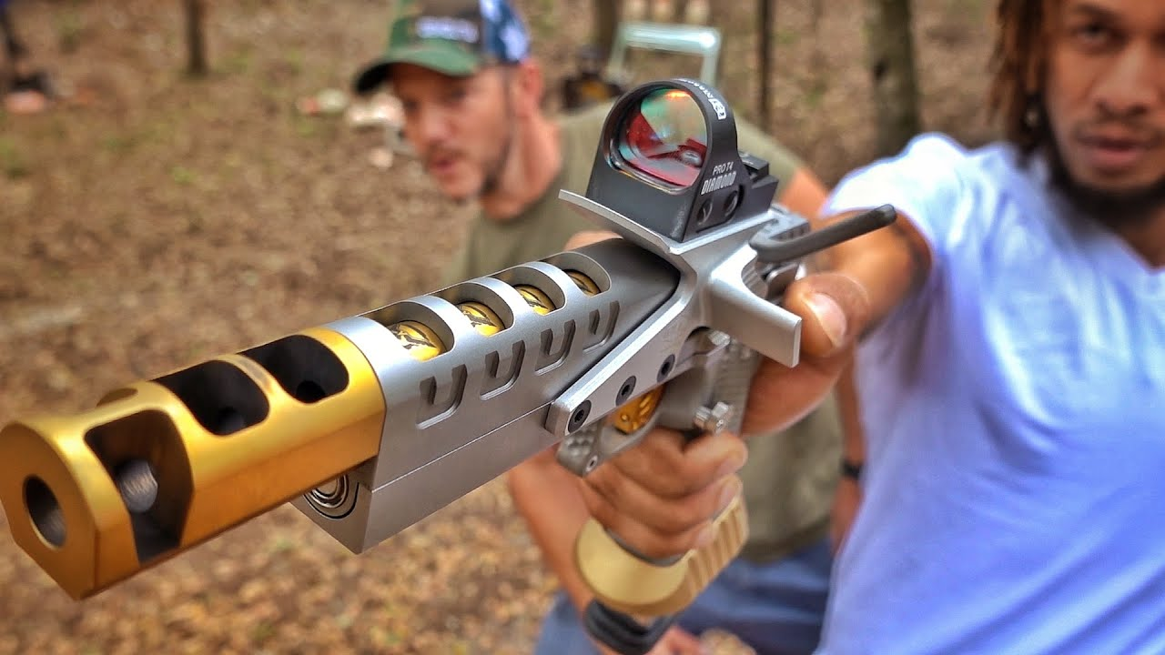 The Fanciest Race Gun in the World!!! ft. Nick Irving!!!!
