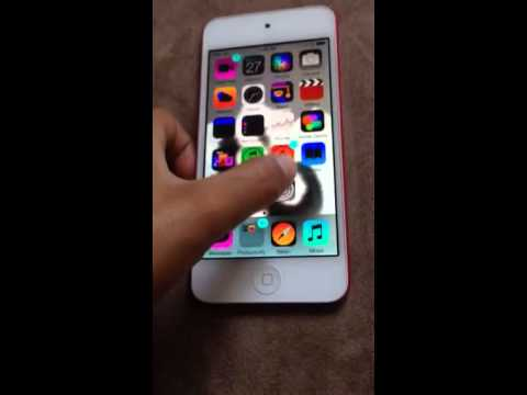 Cool thing you can do with the iPod touch 5th generation