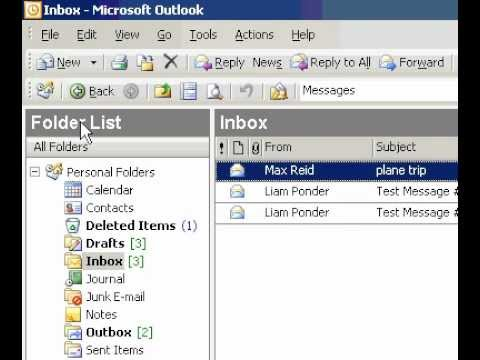 Microsoft Office Outlook 2003 Change the colour of the default flag