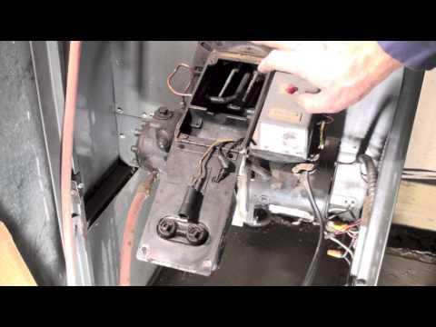 Oil burner spark test
