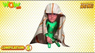 Motu Patlu - Non stop 3 episodes | 3D Animation for kids - #5  | | As seen on Nickelodeon