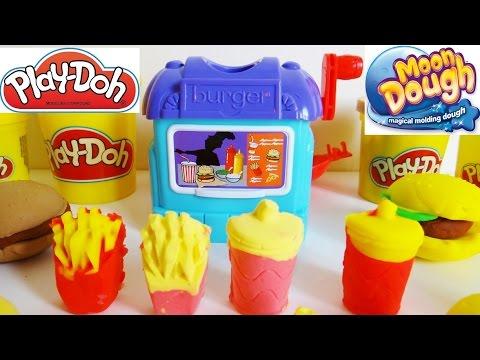 Moon Dough & Play-Doh Diner, Burgers, Fries, Pies, & Drinks