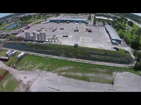 South Florida Fairgrounds aerial view