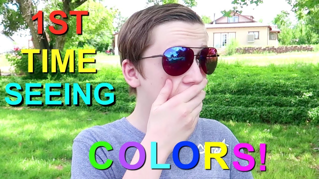 SEEING COLOR FOR THE FIRST TIME! | COLORBLIND GLASSES