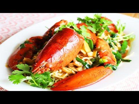 LONGEVITY Lobster Noodles   Happy New Year   CiCi Li