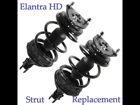 Elantra HD 2007-2010 Front Strut Replacement
