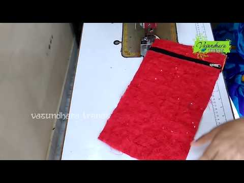How To Sew Beautiful Purse At Home