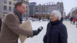 Norwegians say: