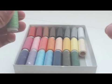 Golden Bell 24 Multi Color Polyester Sewing Thread Spool Set Review