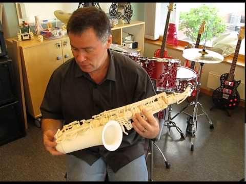3D Printed Saxophone - Sneak Preview