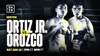 Ortiz Jr. vs. Orozco Undercard