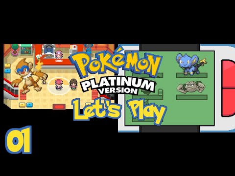 Pokemon Platinum Lets Play - Episode 1