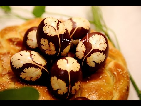 Easter Eggs Natural Dye with Onion Shells - Armenian Easter - Heghineh Cooking Show