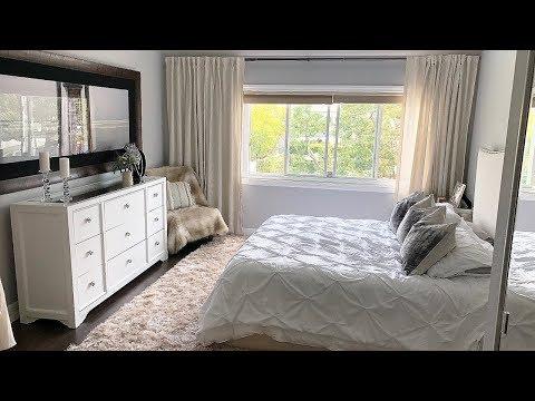 New! Beige White Master Bedroom Decor