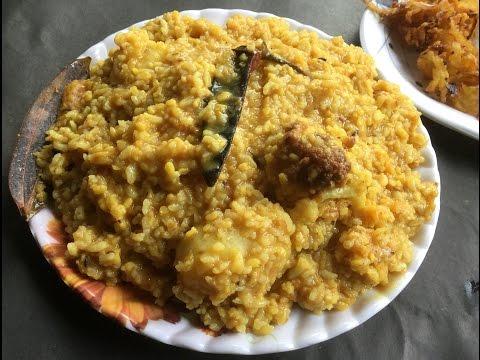 Bengali khichuri Recipe - Khichdi   Main Course   Vegetarian Dish - Bengali Recipe