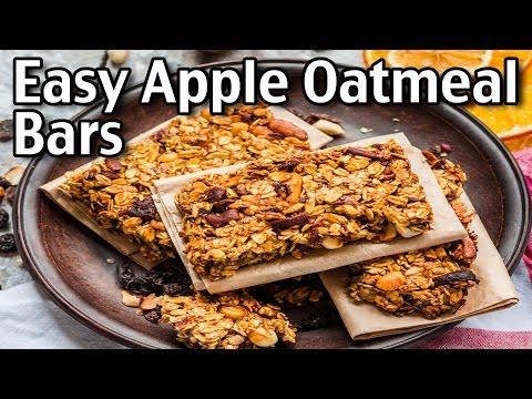 Easy Apple Oatmeal Bars!