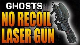 Call of Duty: Ghosts LASER GUN! No Recoil Honey Badger Class (Multiplayer Killer Classes Setup)