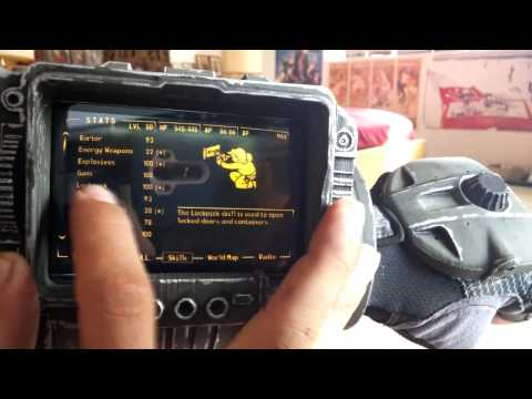 Functional Fallout Pipboy 3000 & Glove Prop - Part 1