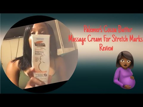 Palmer's Cocoa Butter Review | Massage Cream For Stretch Marks