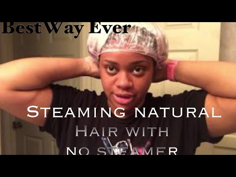 Natural Hair Steaming | NO STEAMER REQUIRED
