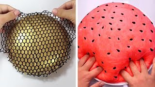 Relaxing Slime Compilation ASMR | Oddly Satisfying Video #70