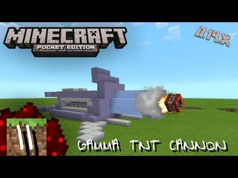Minecraft PE RedStone : Gamma Tnt Cannon (11)