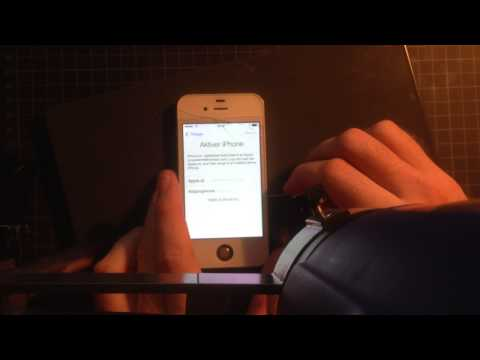 iPhone 4s iOS: 7.1.1 iCloud Activation Bypass Almost working