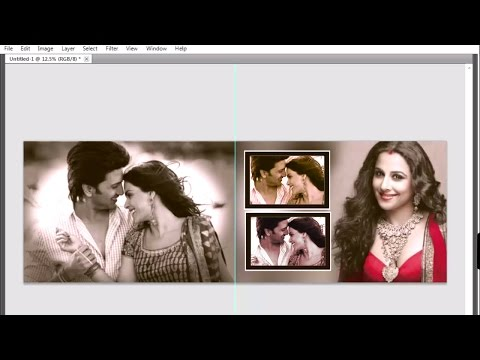 Speia and b&w color effect in Adobe Photoshop 08