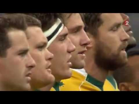 National Anthems France vs Australia 19/11/16