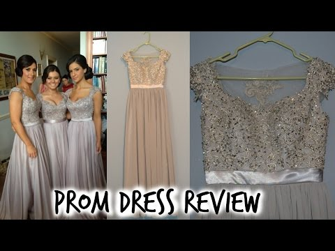 CHINESE WHOLESALE PROM DRESS REVIEW (BABYONLINEDRESS) l XIONGGMELINDAA