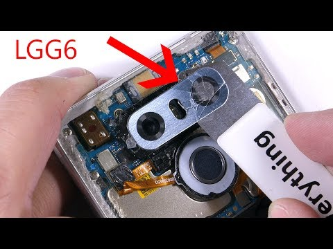 LGG6 Cracked Camera Lens Replacement Video
