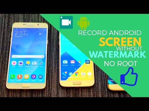 How To Record Android Screen Without Watermark?No Root Needed!!